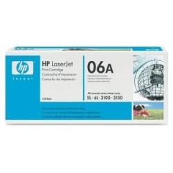 Toner HP 06A do LaserJet 5L, 6L, 3100, 3150 | 2 500 str. | black