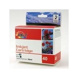 UNI-1 Tusz Canon iP2500 iP2600 MP140 MP160 MP170 Black