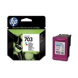 Tusz HP 703 do Deskjet Ink Advantage F730/735 | 250 str. | CMY