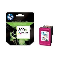 Tusz HP 300XL do Deskjet D1660/2560/2660/5560, F2480/4280 | 440 str. | CMY