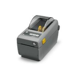 Zebra ZD410, 8 dots/mm (203 dpi), MS, RTC, USB, BT (BLE), dark grey