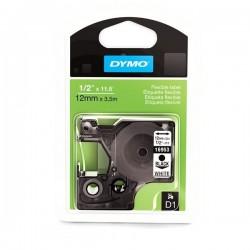 Dymo taśma do drukarek etykiet, D1 16958 | 19mm x 3.5m | czarny/biały | NYLONOWA