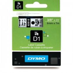 Dymo taśma do drukarek etykiet, D1 16959 | 12mm x 5.5m | czarny/biały poliester