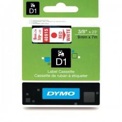 Dymo taśma do drukarek etykiet, D1 40914 | 9mm x 7m | niebieski / biały